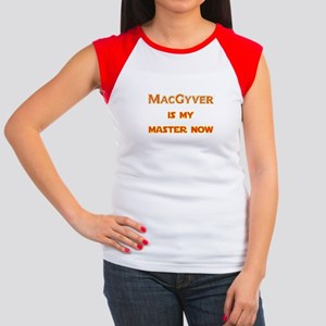MacGyver is my master now Women's Cap Sleeve T-Shi