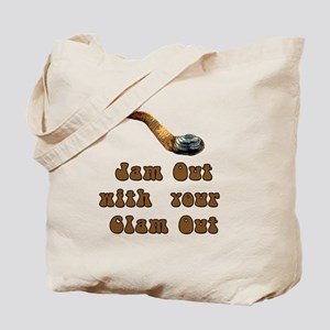 Clam Out Tote Bag