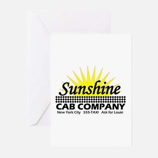 Sunshine Cab Co Greeting Cards (Pk of 10)