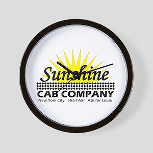 Sunshine Cab Co Wall Clock