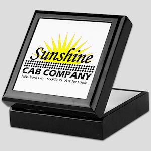 Sunshine Cab Co Keepsake Box