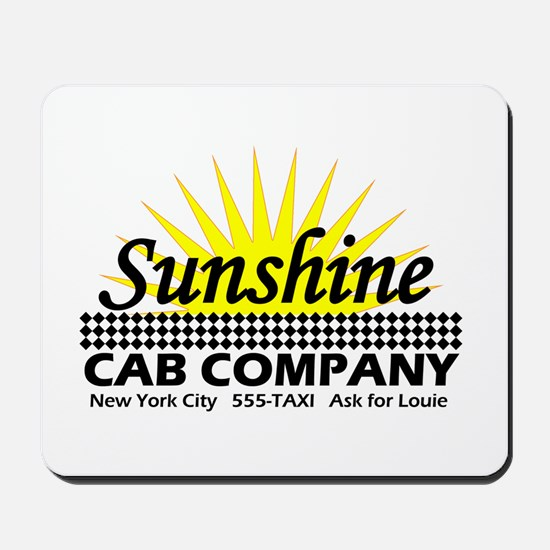 Sunshine Cab Co Mousepad
