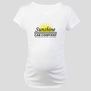 Sunshine Cab Co Maternity T-Shirt