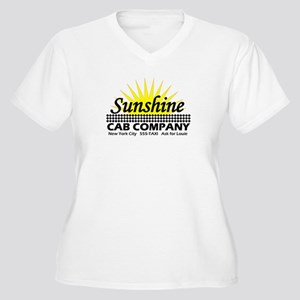 Sunshine Cab Co Women's Plus Size V-Neck T-Shirt