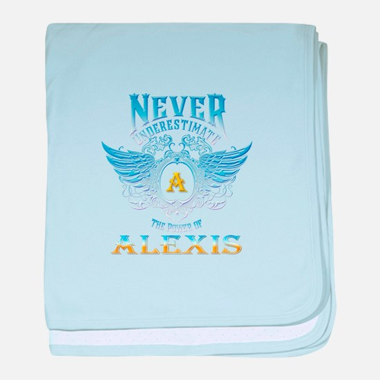 Never underestimate the power of alex baby blanket