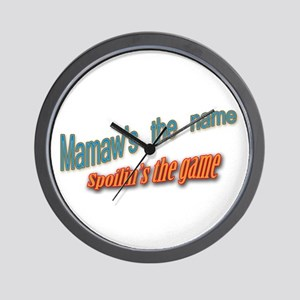 Click to view Mamaw Wall Clock