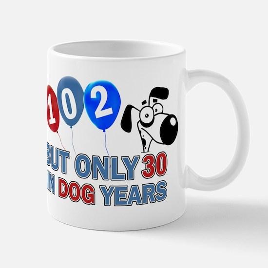 102 Birthday Design Mugs