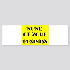 BUSINESS Bumper Sticker