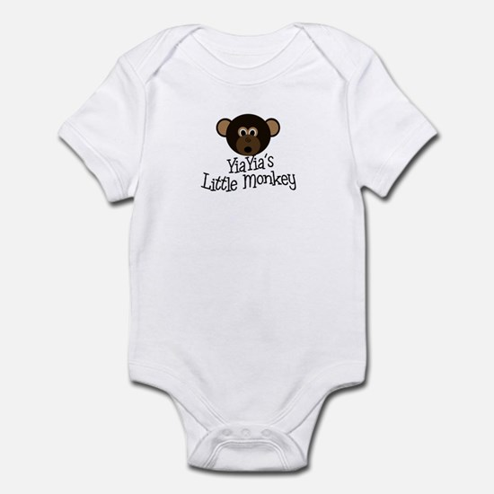 YiaYia's Little Monkey BOY Infant Bodysuit
