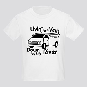 Livin in a Van Kids Light T-Shirt