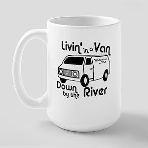 Livin in a Van Large Mug