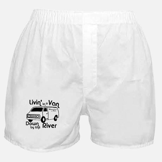 Livin in a Van Boxer Shorts