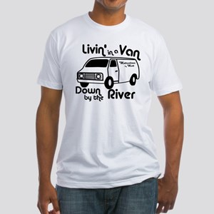 Livin in a Van Fitted T-Shirt