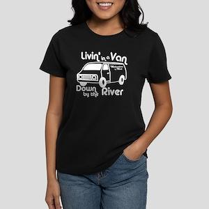 Livin in a Van Women's Dark T-Shirt