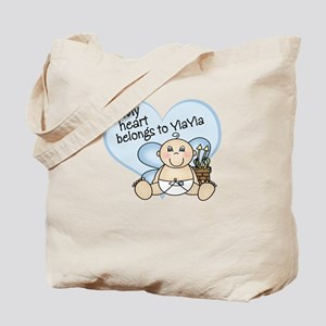 My Heart Belongs to YiaYia BO Tote Bag