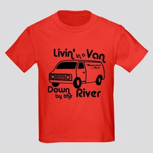 Livin in a Van Kids Dark T-Shirt