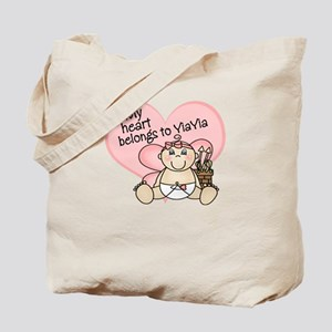 My Heart Belongs to YiaYia GI Tote Bag