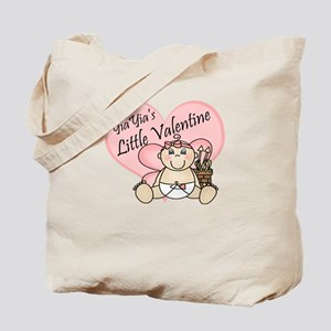 YiaYia's Little Valentine GIR Tote Bag