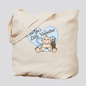 YiaYia's Little Valentine BOY Tote Bag