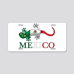 Mexican Gecko Aluminum License Plate