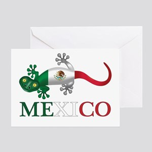 Mexican Gecko Greeting Cards