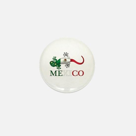 Mexican Gecko Mini Button