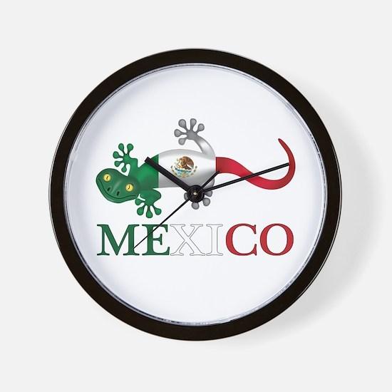 Mexican Gecko Wall Clock