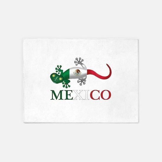 Mexican Gecko 5'x7'area Rug