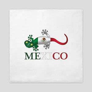 Mexican Gecko Queen Duvet