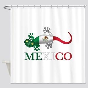 Mexican Gecko Shower Curtain