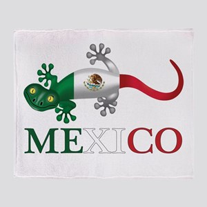Mexican Gecko Throw Blanket
