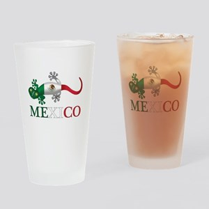 Mexican Gecko Drinking Glass