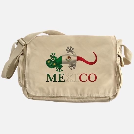 Mexican Gecko Messenger Bag