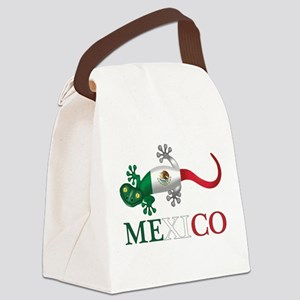 Mexican Gecko Canvas Lunch Bag