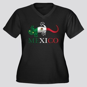 Mexican Gecko Plus Size T-Shirt