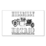 DARK HILLBILLY SHIRTS Rectangle Sticker