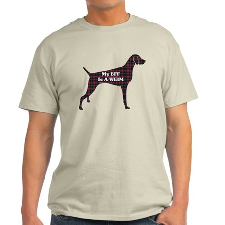 BFF Weimaraner Light T-Shirt