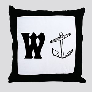 Wanker Throw Pillow