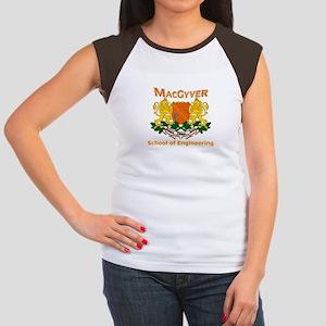 MacGyver Engineering Women's Cap Sleeve T-Shirt