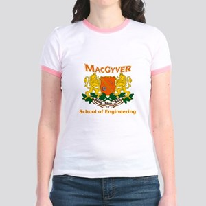 MacGyver Engineering Jr. Ringer T-Shirt
