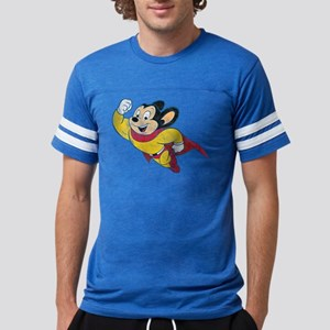 Vintage Mighty Mouse Mens Football Shirt T-Shirt