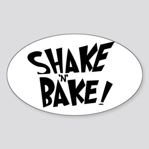 """Shake 'N' Bake"" Oval Sticker"