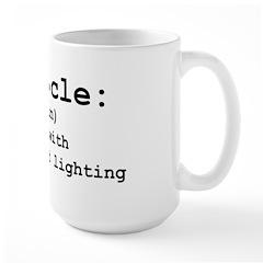 Cubicle Hell Large Mug