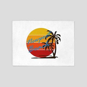 California - Newport Beach 5'x7'Area Rug