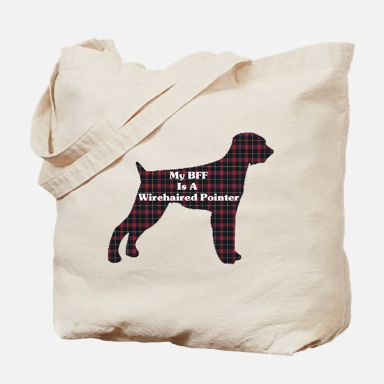 BFF Wirehaired Pointer Tote Bag
