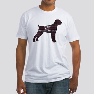 BFF Wirehaired Pointer Fitted T-Shirt