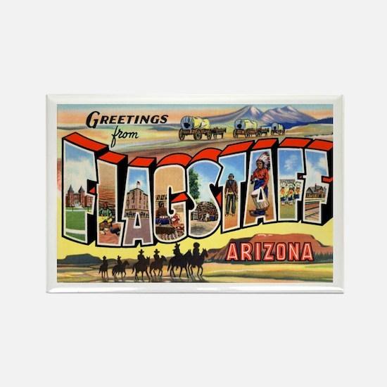 Flagstaff Arizona Greetings Rectangle Magnet
