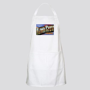 Iowa City Iowa Greetings BBQ Apron