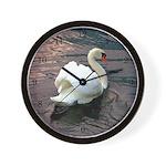 Swan #1 - Wall Clock