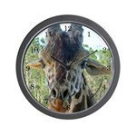 Giraffe #1 - Wall Clock with numbers